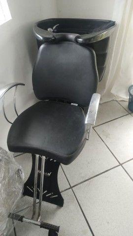Cadeira + lavatório haisan - Foto 5