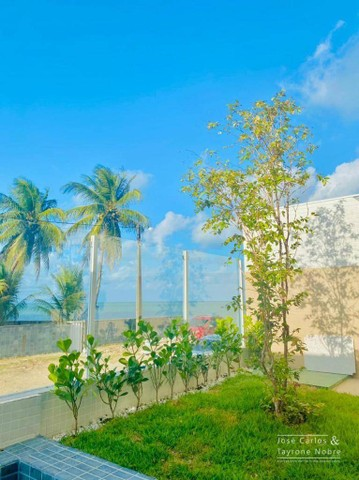 Apartamento térreo com área externa, 71m², projetados e com piscina privativa a beira mar  - Foto 12