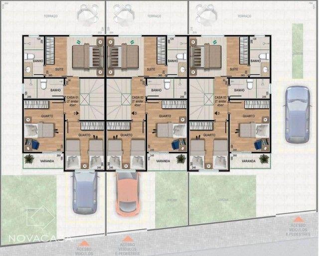Casa com 3 dormitórios à venda, 88 m² por R$ 580.000 - Santa Amélia - Belo Horizonte/MG - Foto 3