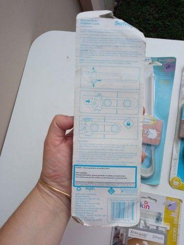 Travas de armários e gaveta para bebês - Foto 5