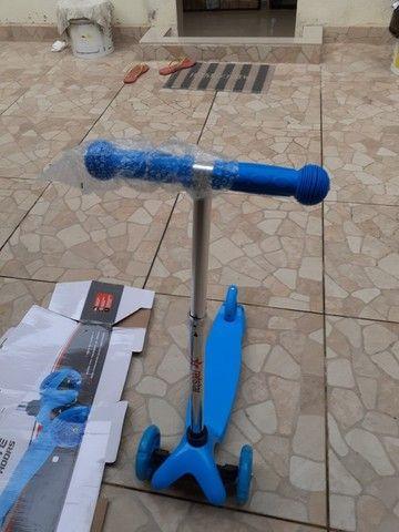 Patinete scooter infantil 3 rodas - Foto 4