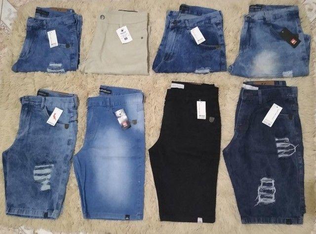 Kit 3 Bermudas Jeans Excelentes  - Foto 2