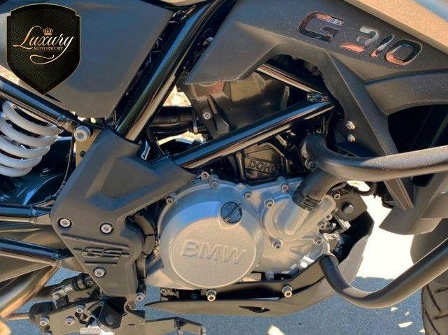 Motocicleta Bmw GS G310 2020 Preta com 600 KM - Foto 9