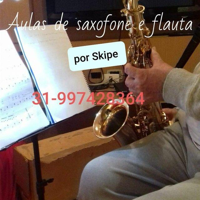 Aulas de saxofone e flauta transversal  - Foto 2
