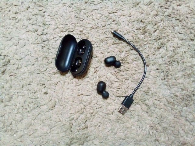 Fone de ouvido sem fio Bluetooth haylou - Foto 2