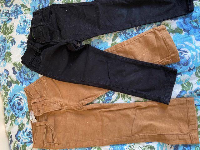 Lote calças menino, veste 2 á 4 anos - Foto 3