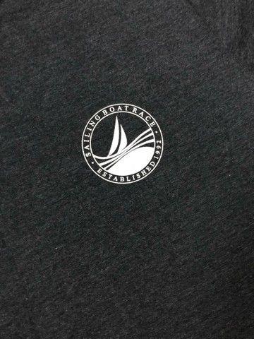 Camisa T-Shirt Cinza Masculina ZIP NAUTICA  - Foto 3