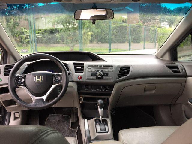 Honda Civic 2012 Automático  - Foto 6