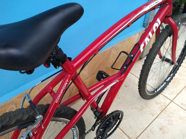 Bicicleta Caloi 200 Vermelha Seminova - Foto 2