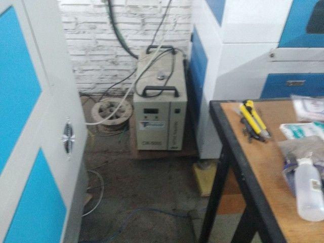 Máquina de corte e gravação a laser CO2  80w - Foto 2