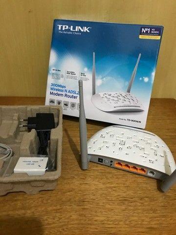 Modem roteador TP-Link Wireless TD-W8961N 2 em 1 - Foto 2