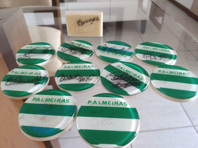 Palmeiras Jogo de Botão Autógrafados Campeão 1994