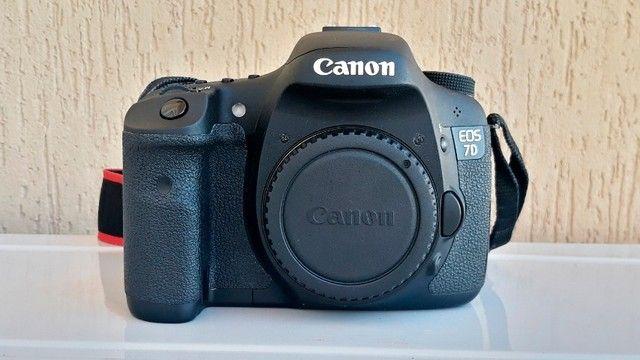 Canon Eos 7d Dslr Cor Preto