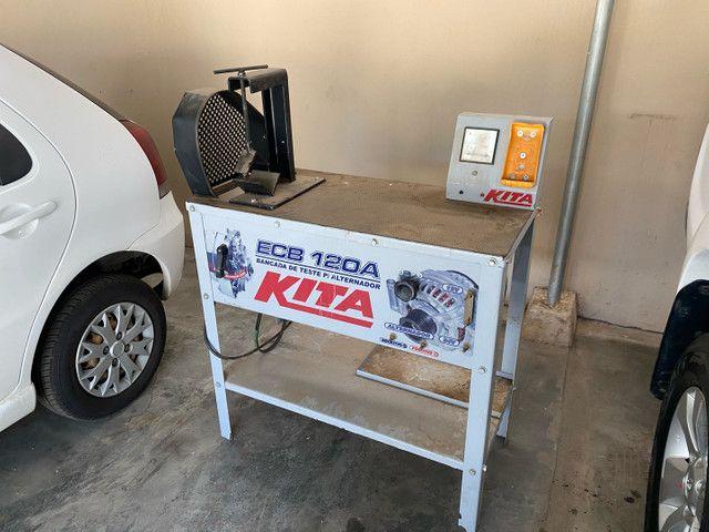 Bancada de teste para alternador Kita  - Foto 2