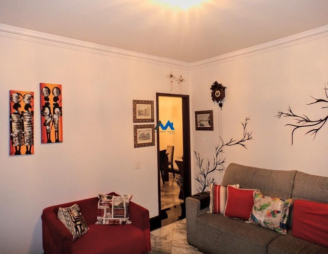 Apartamento à venda com 3 dormitórios em Santa efigênia, Belo horizonte cod:ALM1865 - Foto 4