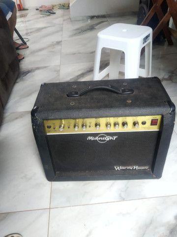 Guitarra Thomaz 80 e Amplificador  - Foto 4