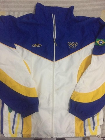 Casaco Brasil Olimpíadas 2000