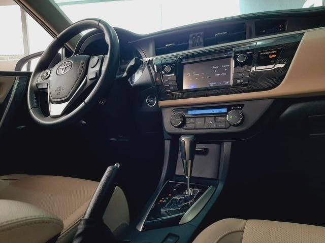 Toyota Corolla Sedan Altis Automático 2017 Emplacado 2021 Toyota - Foto 6