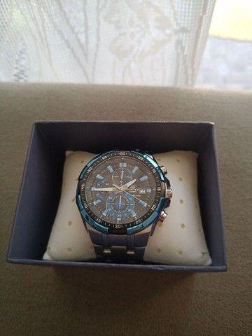Relógio Casio EDIFICE modelo EFR 539 D usado - Foto 2