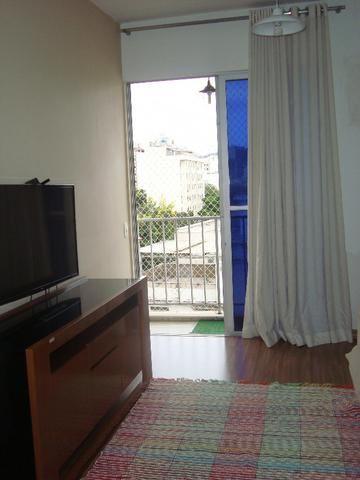 Tijuca Apartamento salão varanda 2 dormitórios dependências reversível garagem - Foto 7