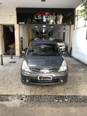 Nissan Grand Livina 2014 SL 1.8 Automática Planos Sem Entrada!!!