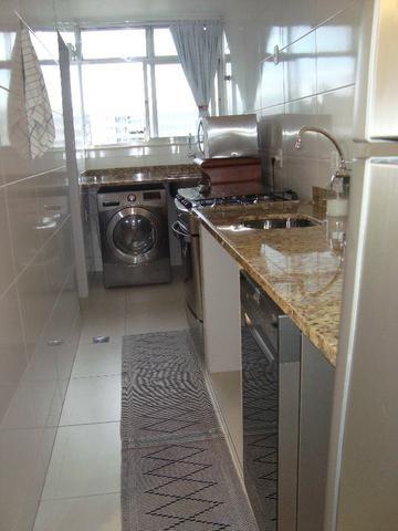 Tijuca Apartamento salão varanda 2 dormitórios dependências reversível garagem - Foto 18