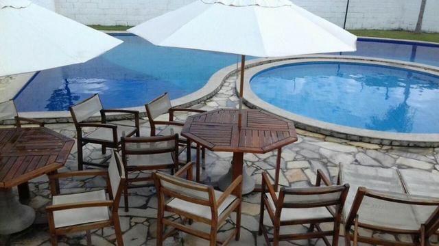 Ótimo apartamento c/ 3 quartos no Res. Parque Maceió c/ piscina, academia e muito mais - Foto 9