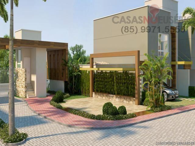Casa em condominio de 140 m, 3 suites, 2 vagas, nova com lazer, perto ce - Foto 12
