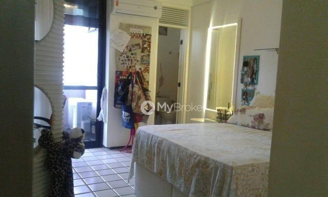 Amplo apartamento na aldeota 4 suítes, varandão - Foto 4