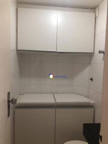 Apartamento com 3 dormitórios à venda, 126 m² por r$ 370.000 - setor bueno - goiânia/go - Foto 7