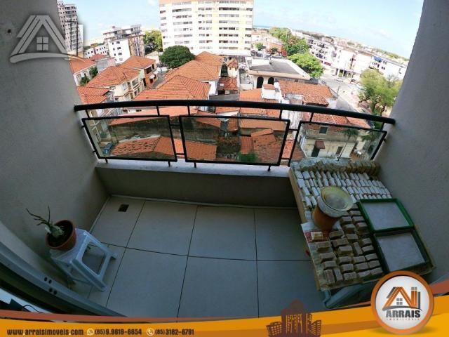 Vende apartamento com 3 quartos no bairro jacarecanga - Foto 5