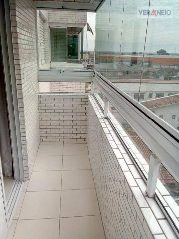 Apartamento com 2 dormitórios à venda, 73 m² por R$ 275.000 - Vila Guilhermina - Praia Gra - Foto 9