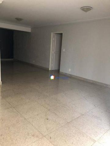 Apartamento com 3 dormitórios à venda, 126 m² por r$ 370.000 - setor bueno - goiânia/go