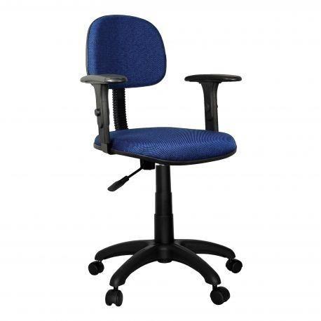 Cadeiras secretária giratória em tecido ou corino - Foto 2
