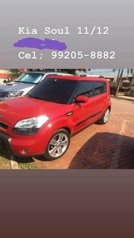 Kia soul vermelho 1.6 16v completo manual super econômico.