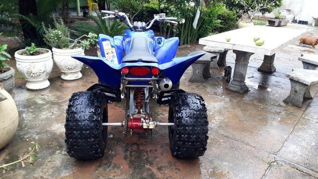 Quadriciclo Yamaha raptor 350cc - Foto 9
