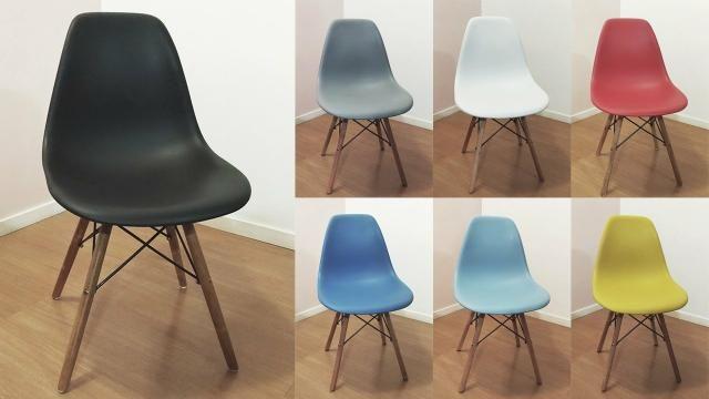 Cadeira tipo Eiffel ou Eames