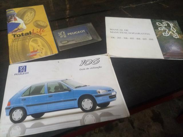Peugeot 106 98/99 1.0 8 válvulas. Ar, vidros elétricos - Foto 14