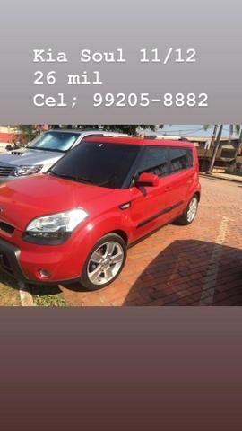 Kia soul vermelho 1.6 16v completo manual super econômico. - Foto 3