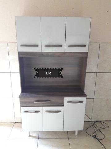 Armário de cozinha 6 portas - Foto 4