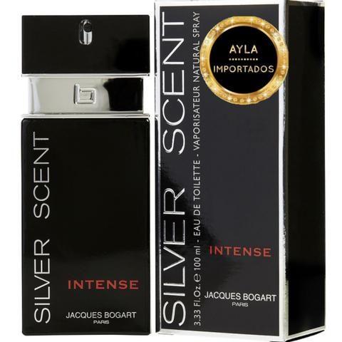 3 x R$: 40,00 Perfume Importado Jacques bogart Silver Intense 100ml