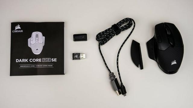 Mouse Gamer Corsair Dark Core SE, Wireless, RGB, 16000 DPI - Foto 5