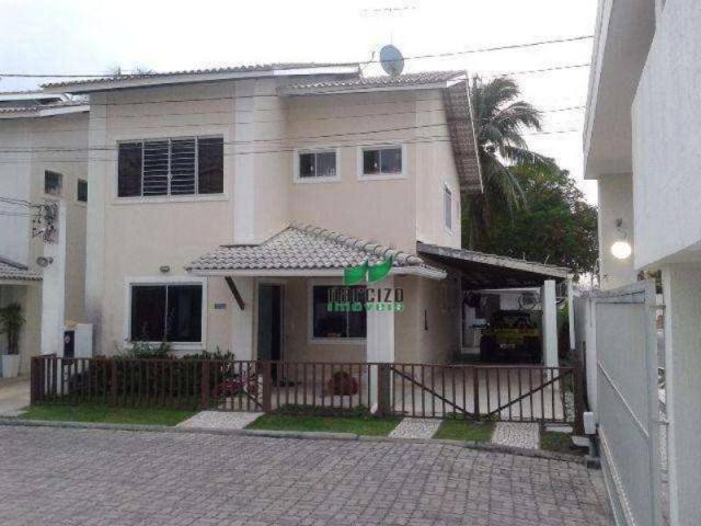 Casa com 3 dormitórios à venda, 200 m² por r$ 580.000,00 - buraquinho - lauro de freitas/b
