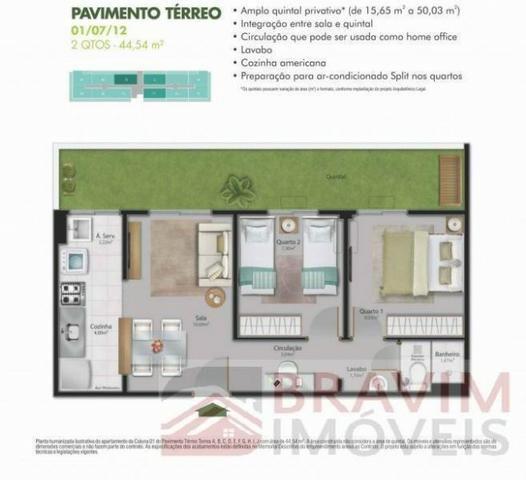 Apartamento com quintal privativo - Foto 15