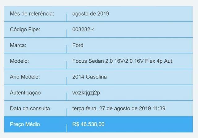 Focus Sedan 2.0 - Foto 13