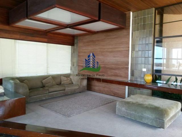 Apartamento alto luxo, 4 quartos, beira mar de candeias - Foto 19