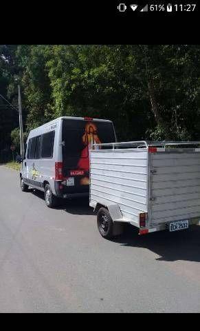 Carretinha Baú Aluga se  - Foto 2