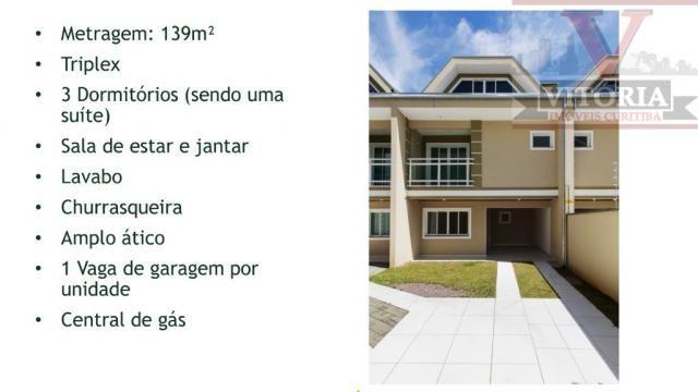 SOBRADO À VENDA, 139 M² POR R$ 400.000,00 - FAZENDINHA - CURITIBA/PR