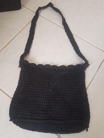 Linda bolsa em crochê - Foto 2