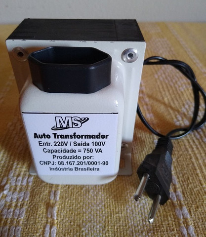 Transformador 220 p/ 110V 750VA - Foto 3